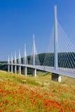 Viaducto de Millau imágenes de archivo libres de regalías