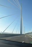 Viaducto de Millau imagen de archivo libre de regalías