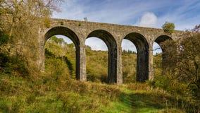 Viaducto de Pontsarn, País de Gales, Reino Unido Imagenes de archivo