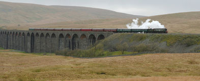 Viaducto de Ribblehead. Foto de archivo libre de regalías
