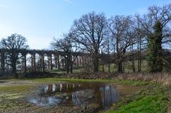 Viaducto del carril. Fotos de archivo