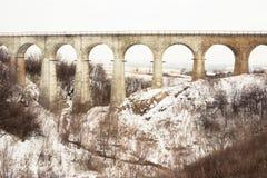 Viaducto del puente Imagenes de archivo