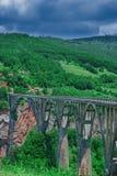 Viaducto del puente Foto de archivo