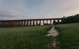 Viaducto del valle de Ouse Imagen de archivo