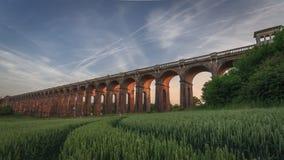 Viaducto del valle de Ouse Fotos de archivo libres de regalías