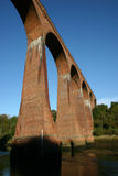 Viaducto ferroviario viejo Imagen de archivo