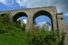 Viaducto inacabado fotografía de archivo libre de regalías