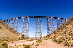 Viaducto La Polvorilla Royaltyfria Bilder