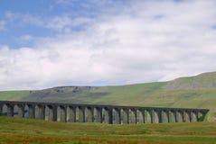 Viaducto para el Settle al ferrocarril de Carlisle fotografía de archivo libre de regalías