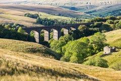 Viaducto principal de la abolladura, Reino Unido imágenes de archivo libres de regalías