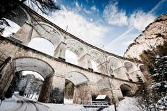Viaducto viejo en Austria Imagen de archivo