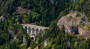 Viaductos de Semmering Bahn Foto de archivo libre de regalías