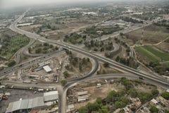 Viadukt von oben stockbilder