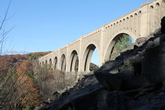 Viaduto da estrada de ferro Fotografia de Stock