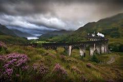 Viaduto de Glenfinnan, Escócia Imagem de Stock