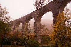 Viaduto de Glenfinnan, Loch Sheil Fotografia de Stock Royalty Free