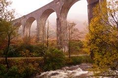 Viaduto de Glenfinnan, Loch Sheil Foto de Stock