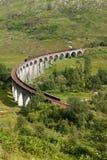 Viaduto de Glenfinnan, Lochaber, montanhas, Escócia Imagem de Stock Royalty Free