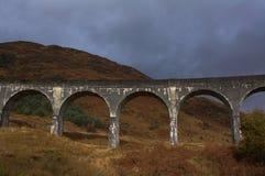 Viaduto de Glenfinnan no outono Fotografia de Stock