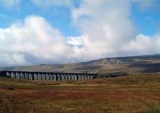 Viaduto de Ribblehead foto de stock
