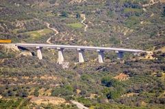 Viaduto na estrada nova Fotos de Stock
