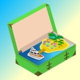 Viagem às férias de verão Imagens de Stock