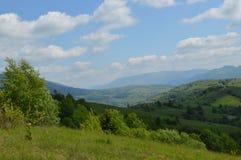 Viagem às montanhas foto de stock
