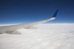 Viagem aérea imagem de stock