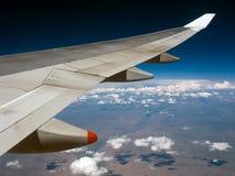 Viagem aérea fotografia de stock