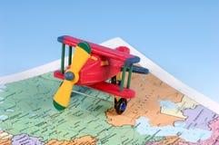 Viagem aérea Imagens de Stock