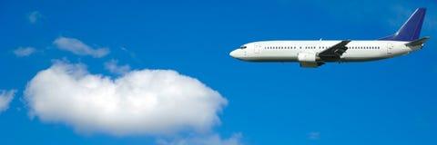 Viagem aérea Fotografia de Stock Royalty Free