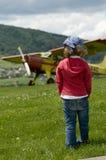 Viagem aérea Foto de Stock