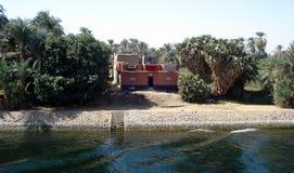 Viagem abaixo do Nilo até Aswan Fotos de Stock Royalty Free