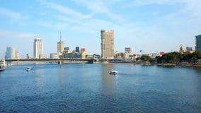 Viagem ao longo do Nilo, o Cairo, Egito vídeos de arquivo