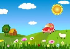Viagem ao país Imagem de Stock