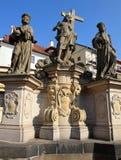 Viagem através de Praga bonita, República Checa, outono, outubro imagens de stock royalty free