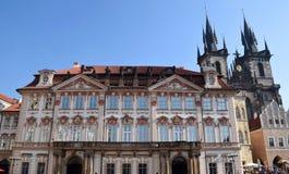 Viagem através de Praga bonita, República Checa, outono, outubro fotos de stock