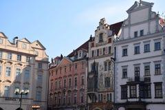 Viagem através de Praga bonita, República Checa, outono, outubro imagens de stock