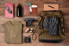 Viagem Backpacking fotografia de stock