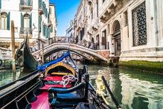 Viagem da gôndola, Veneza Fotos de Stock