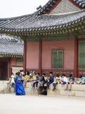 Viagem de escola coreana Imagens de Stock