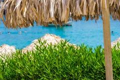 Viagem 2015 de Grécia, ilha de Rhodos, Lindos Imagem de Stock