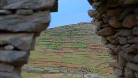 Viagem de Puno no lago Titicaca filme