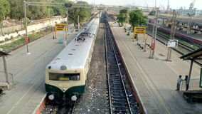 Viagem de trem Imagens de Stock