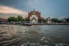 Viagem do barco de Banguecoque Foto de Stock Royalty Free
