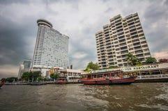 Viagem do barco de Banguecoque Fotografia de Stock Royalty Free