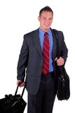 Viagem do homem de negócios Fotografia de Stock Royalty Free