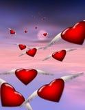 Viagem dos amores Imagem de Stock