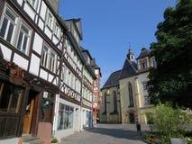 Viagem em Alemanha A cidade de Wetzlar Imagens de Stock