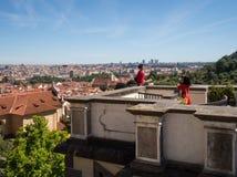 Viagem em Praga foto de stock